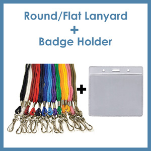 Click here to see Combo Lanyard and Badge Holder