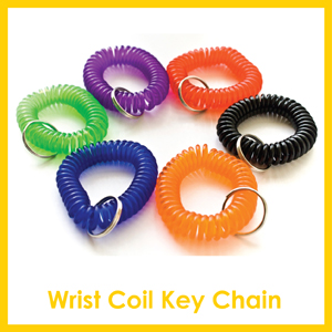 Click here to see Wrist Coil Key Chain