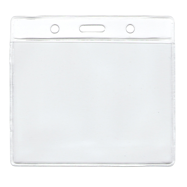 "3"" X 4"" HORIZONTAL VINYL ID HOLDER"