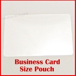 "Business Card Laminating Pouch - 5 mil - Size: 2-1/4"" x 3-3/4"""