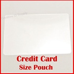 "Credit Card Laminating Pouch - 5 mil - Size: 2-1/8"" x 3-3/8"""