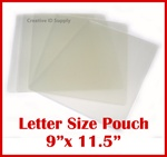 "Letter Laminating Pouch - 3 mil - Size: 9"" x 11-1/2"""